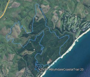 KZNTR Blythedale 20km Route Map
