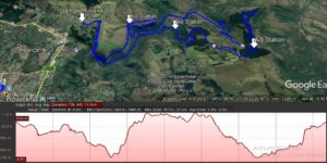 Umgeni River Run 50km Course Profile