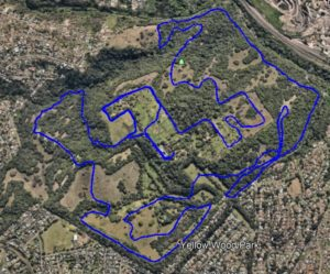 KZNTR Kenneth Stainbank 15km route map