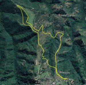 KZNTR Phezulu 5km Route Map