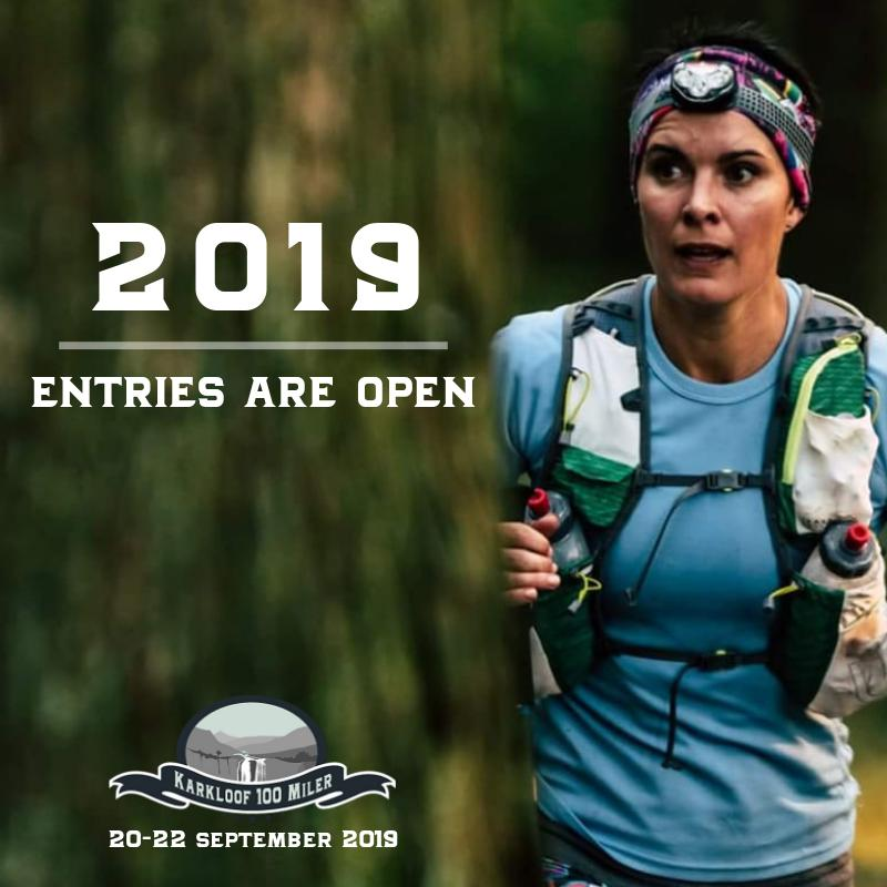 Karkloof100 entries are open! Be a part of the magic in 2019!