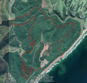 KZNTR Blythedale 13km Route Map