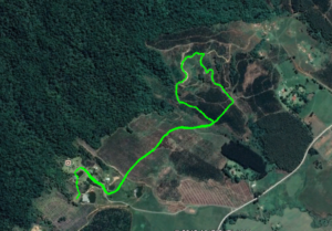 KZNTR Gilboa Challenge 4km Route Map
