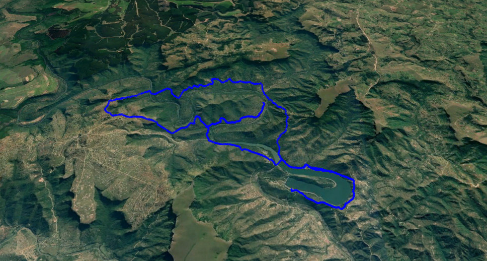 KZNTR 1000 Hills - 38km Route Map