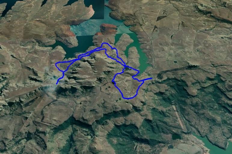 KZNTR DNT Mar19 - 20km Route