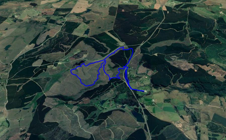 KZNTR Howick Trail Run - 12km Route Map