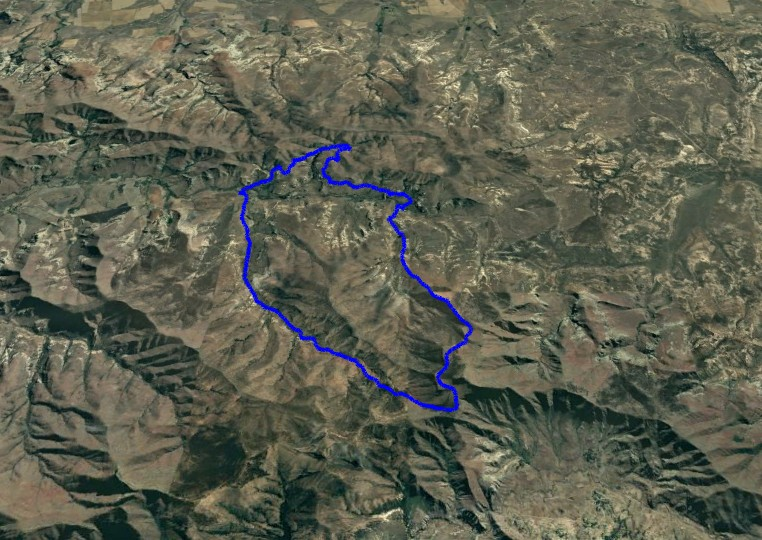 KZNTR WildSeries Golden Gate - Day 1 27km Course Route