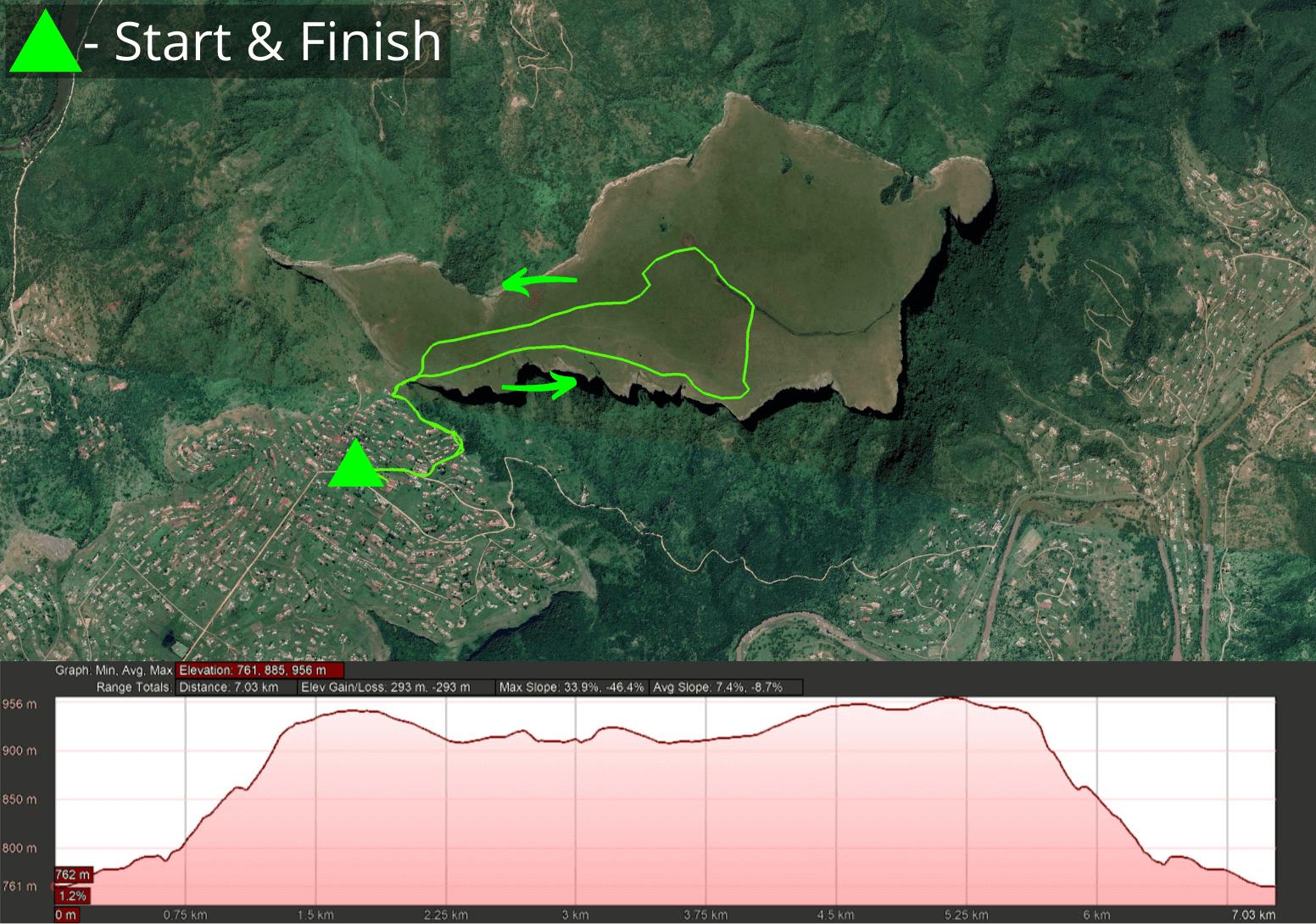 KZNTR Table Mountain Trail - 7km Course 2021-05-13 V1