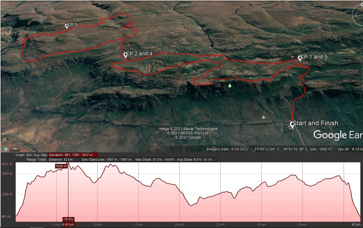 42km SPB Mountain Marathon